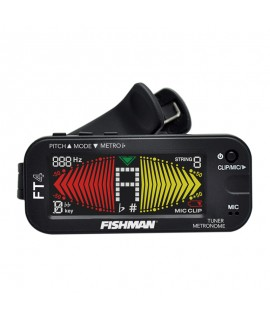FT-4 Clip-on Digital Tuner & Metronome w/Color Screen