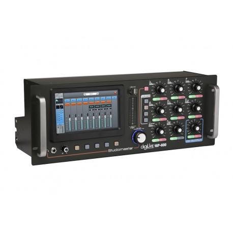 NEW DIGILIVE 16P-600 POWERED 4CH 4X 150 WATTS