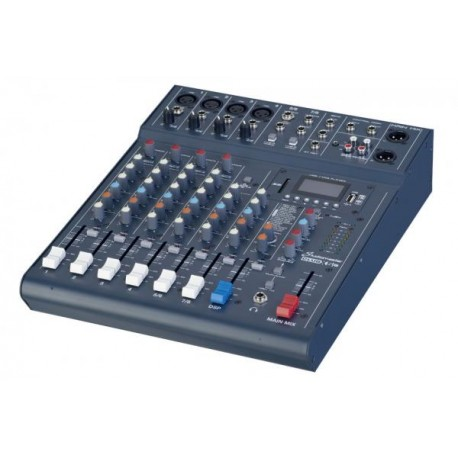 CLUB XS 8 - 6 CHANNEL 8 INPUT MIXER