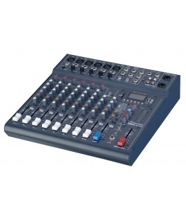 CLUB XS 10 - 8 CHANNEL 10 INPUT MIXER